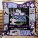 Alzheimer's Hippie Elephant Blanket SEP0701 97O57
