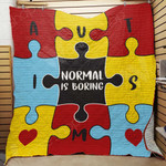 Autism Blanket SEP1203 78O42