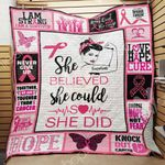 Breast Cancer Blanket JL0602 85O36