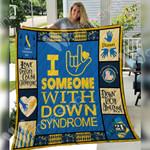 Down Syndrome Blanket SEP2601 75O49