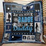 Police Dad Blanket JN1401 81O42