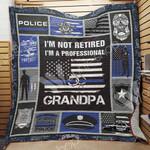 Police Grandpa Blanket JN1003 81O42