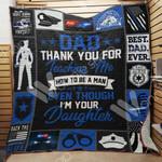 Police Dad Blanket JN1502 87O35