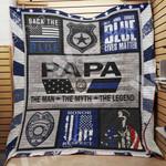 Police Dad Blanket JN1101 81O33