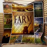 I'd Rather Be On My Farm Quilt