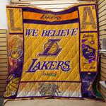 LA Lakers Believe Quilt