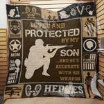 Soldier Mom Blanket SEP0603 95O35