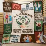 Social Worker Blanket SEP1201 95O50