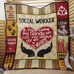 Social Worker Blanket SEP1201 85O57