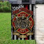 Firefighter Flag PSL178F