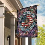 Let There Be Peace On Earth Hippie Flag TRN66F