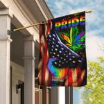 LGBT Pride Pot Leaf Flag DDH1669F