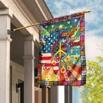 Living Life In Peace Hippie Flag PSL151Fv1