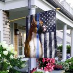 Boxer. The Thin Blue Line American US Flag THB2426F1