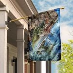 Camo Fishing Flag PN162F