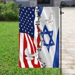 Jewish American Flag PN252F
