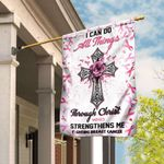 Fighting Breast Cancer Flag TLP14F
