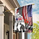 Veteran Stand For The Flag Kneel For The Cross Flag DDH1836F
