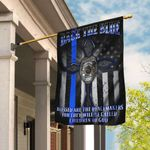 Back The Blue Police Flag QNK275F