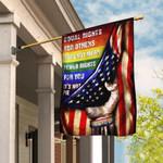 LGBT Pride. Equal Rights Flag THB2018F