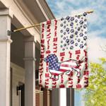 Dog Dachshund American Flag MRDDH1571F