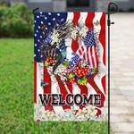 Welcome American Flag PN251F