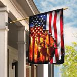 Deer Hunting American US Flag THB1990V1F