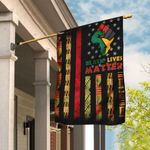 Black Lives Matter African American Flag DDH1634F