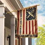 Baking American US Flag TRL32F1