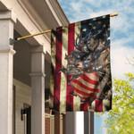 Deer American US Flag TLP11F