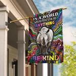Be Kind Rhino Hippie Flag DDH1853Fv1