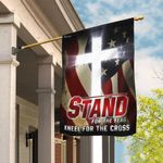 America. Stand For The Flag Kneel For The Cross Flag THB2051F1