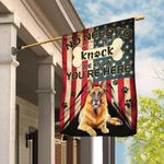 German Shepherd. We Know You Are Here Flag THB2368F1