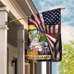 Love Louisiana Flag MLH841F