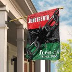 Juneteenth. Free-ish Since 1865 Flag THB2161F