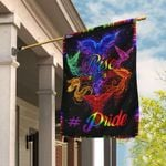 Rise From Your Ashes Phoenix LGBT Flag DDH1838Fv1