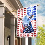 Hereford Cattle Celebrate Fourth Of July Independence Day Flag DBX1621Fv3