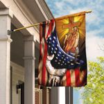 Christian Jesus American Flag THN2134F