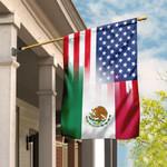 Mexican American Flag DBX1688F