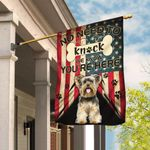 Yorkie. Yorkshire Terrier. We Know You Are Here Flag THB2368F2