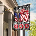 Stand For The Flag Kneel Before God Christian American Flag DBX1730F