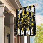 Don't Tread On Me. 2nd Amendment Flag THB2221F