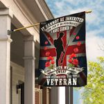 Veteran Remembrance Day Poppy Union Jack Flag THB2276F1