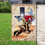 Texas Horseback Riding Flag PSL206Fv1