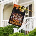 Funny Farm. Happy Halloween Flag THH2559F