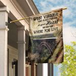 West Virginia Forever In Your Heart Flag DDH1586F