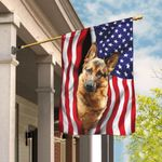 German Shepherd American Flag THB2349F1