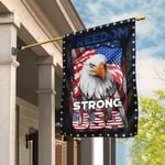 Strong USA Freedom, Independence Day, 4th of July Flag QLP05F