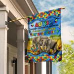 Autism Elephant Family Flag DDH1778F