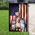Three Cats American Flag PSL131Fv1